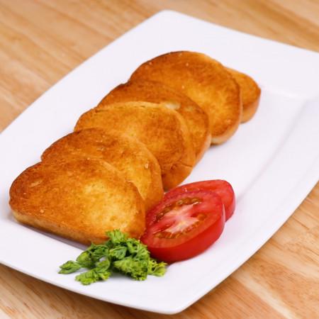 Bánh nướng tỏi sốt cà